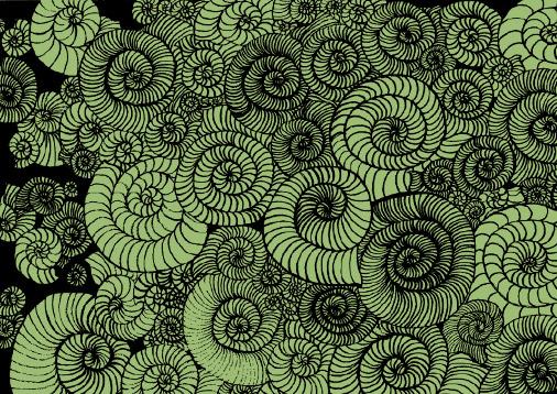 Ammoniten-Roulette Illustration