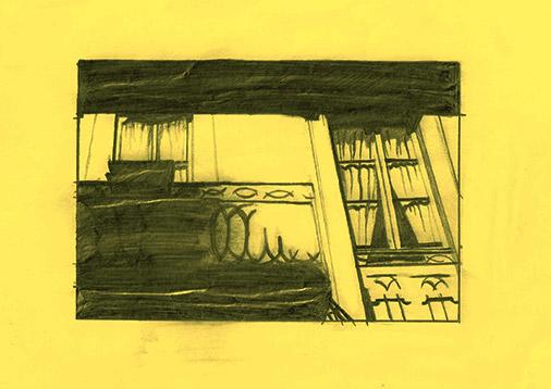 Schatten Fenster Illustration
